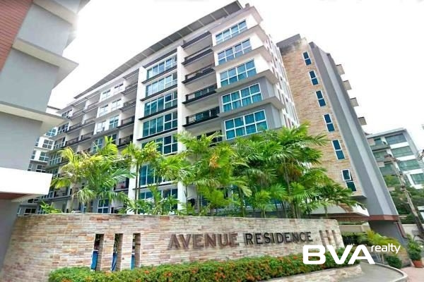 Avenue Residence Pattaya Condo For Sale Central Pattaya