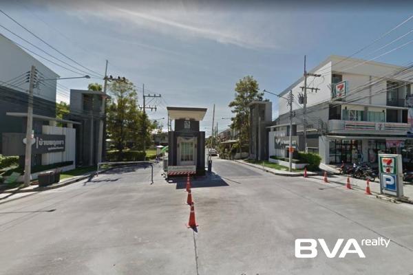 Pattaya House For Rent Baan Pruksa East Pattaya