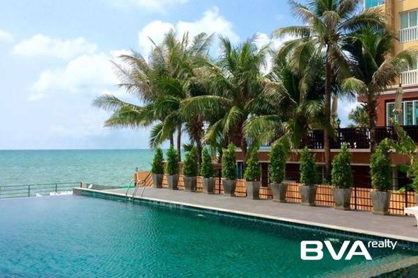 Beachfront Jomtien Residence Pattaya Condo For Rent Jomtien