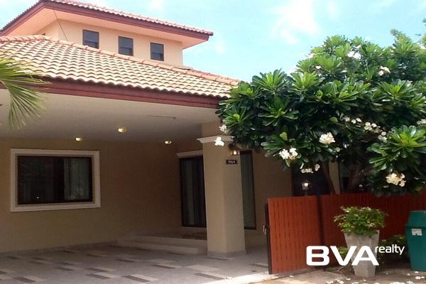 Boss Village Pattaya House For Rent East Pattaya