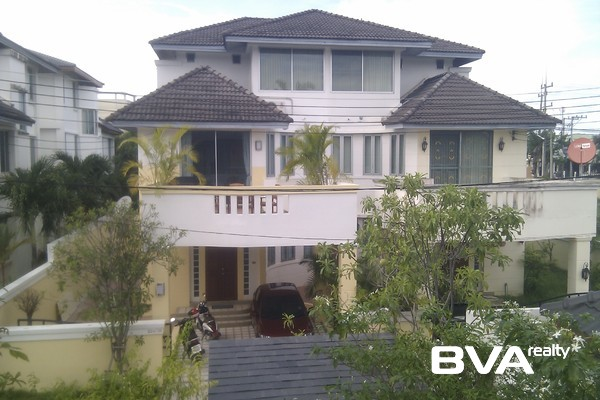 Chateau Dale Residence Pattaya House For Rent East Pattaya