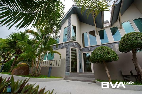 Pattaya House For Rent Chateau Dale Tropical Villas Jomtien