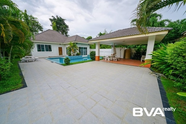 Impress House Village Pattaya House For Rent East Pattaya