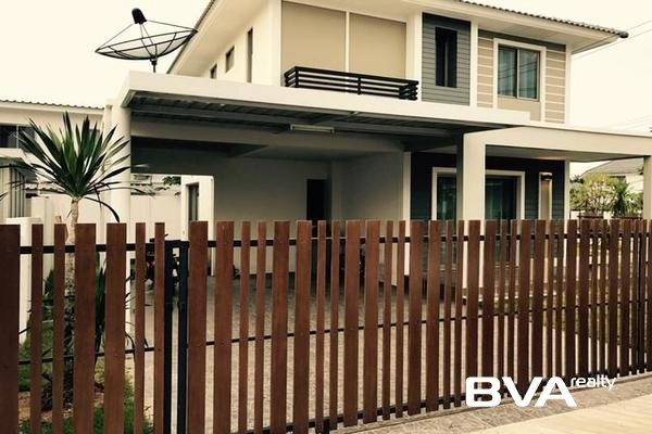 Pattaya House For Rent Life Garden Home North Pattaya