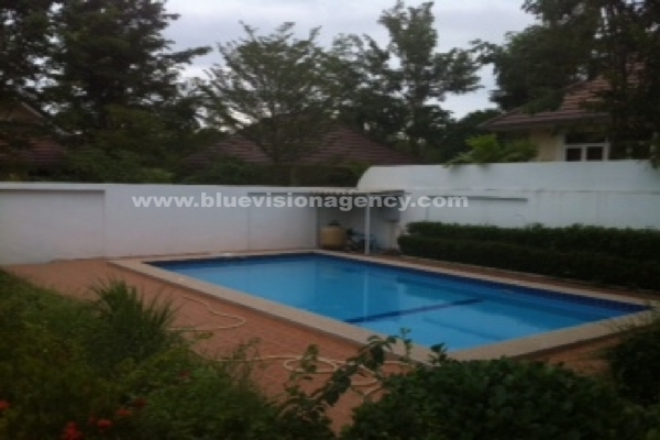 Pattaya House For Rent Long Stay Village East Pattaya
