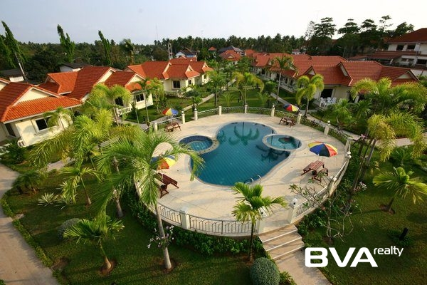 Mabprachan Garden Resort Pattaya House For Rent East Pattaya
