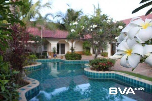 Nirvana Pool Villa Pattaya House For Sale East Pattaya