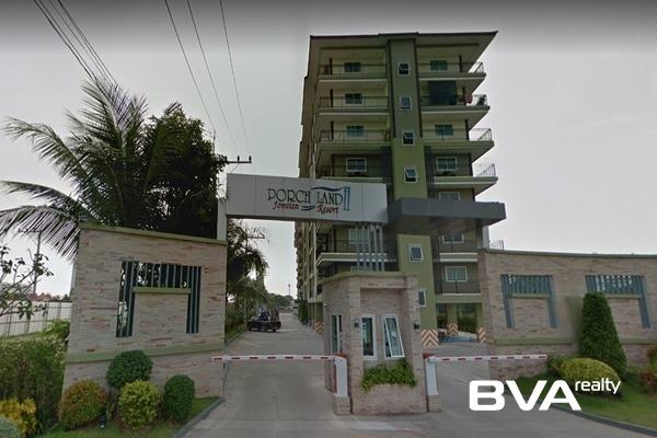 Porchland 2 Pattaya Condo For Rent Jomtien