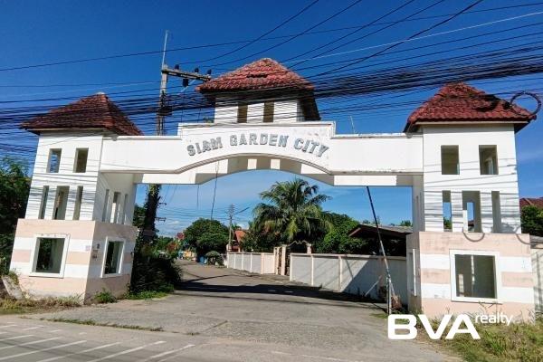 Siam Garden City Pattaya House For Rent East Pattaya