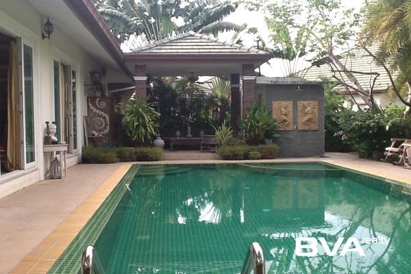 Pattaya House For Rent Sp Village East Pattaya