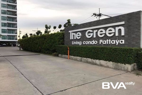 Pattaya Condo For Rent The Green Living Condo North Pattaya