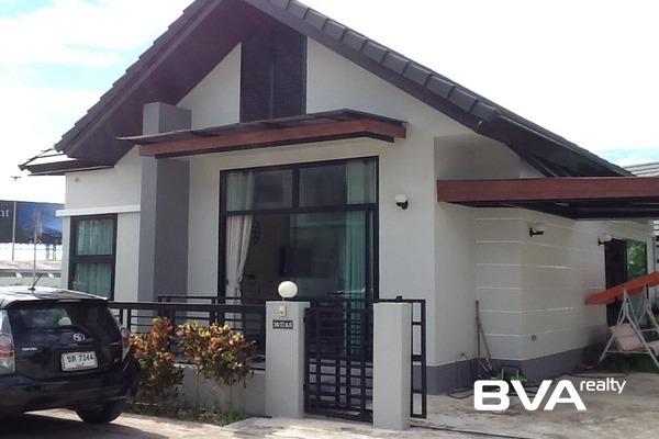 Pattaya House For Rent The Green Park Village East Pattaya