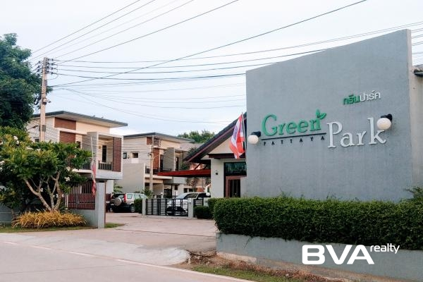 Pattaya House For Rent The Green Park Village East Pattaya