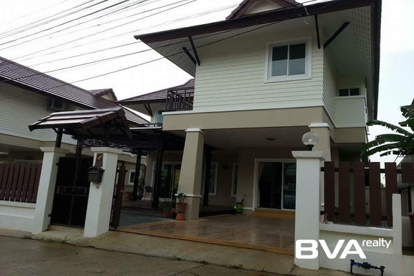 Pattaya House For Rent Tropical Village East Pattaya