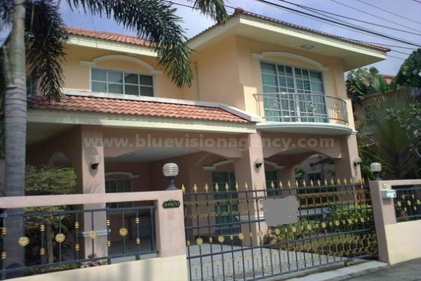 Pattaya House For Rent Wonderland East Pattaya