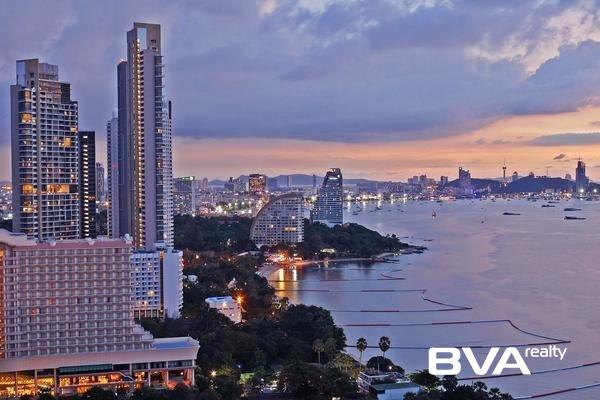 Wongamat Garden Beach Pattaya Condo For Rent North Pattaya