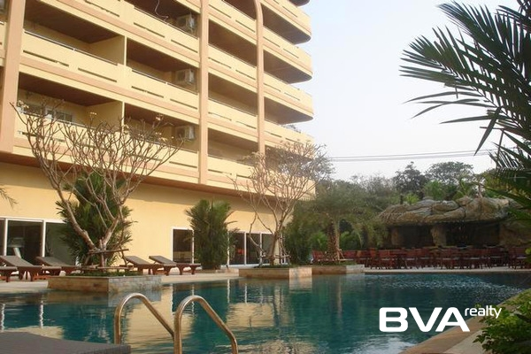 Wongamat Residence Pattaya Condo For Rent North Pattaya